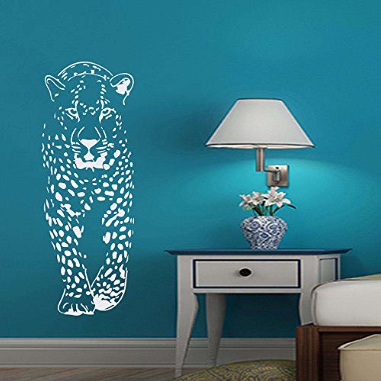 Wall Decals Cheetah Decal Vinyl Sticker Pet Shop Bathroom Nursery