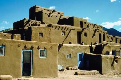 Kids Projects On Pueblos Crafts Pueblo Indians Native American