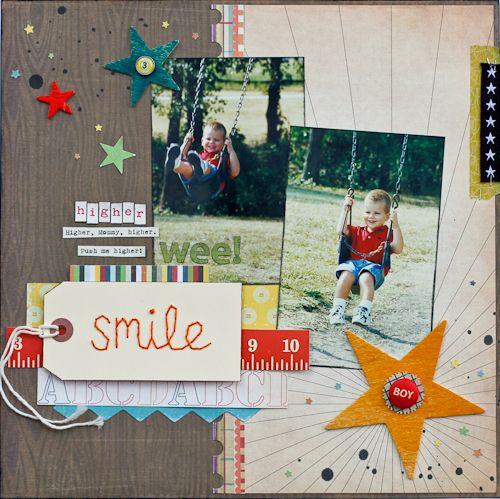 diane payne using our @Studio Calico smile tag