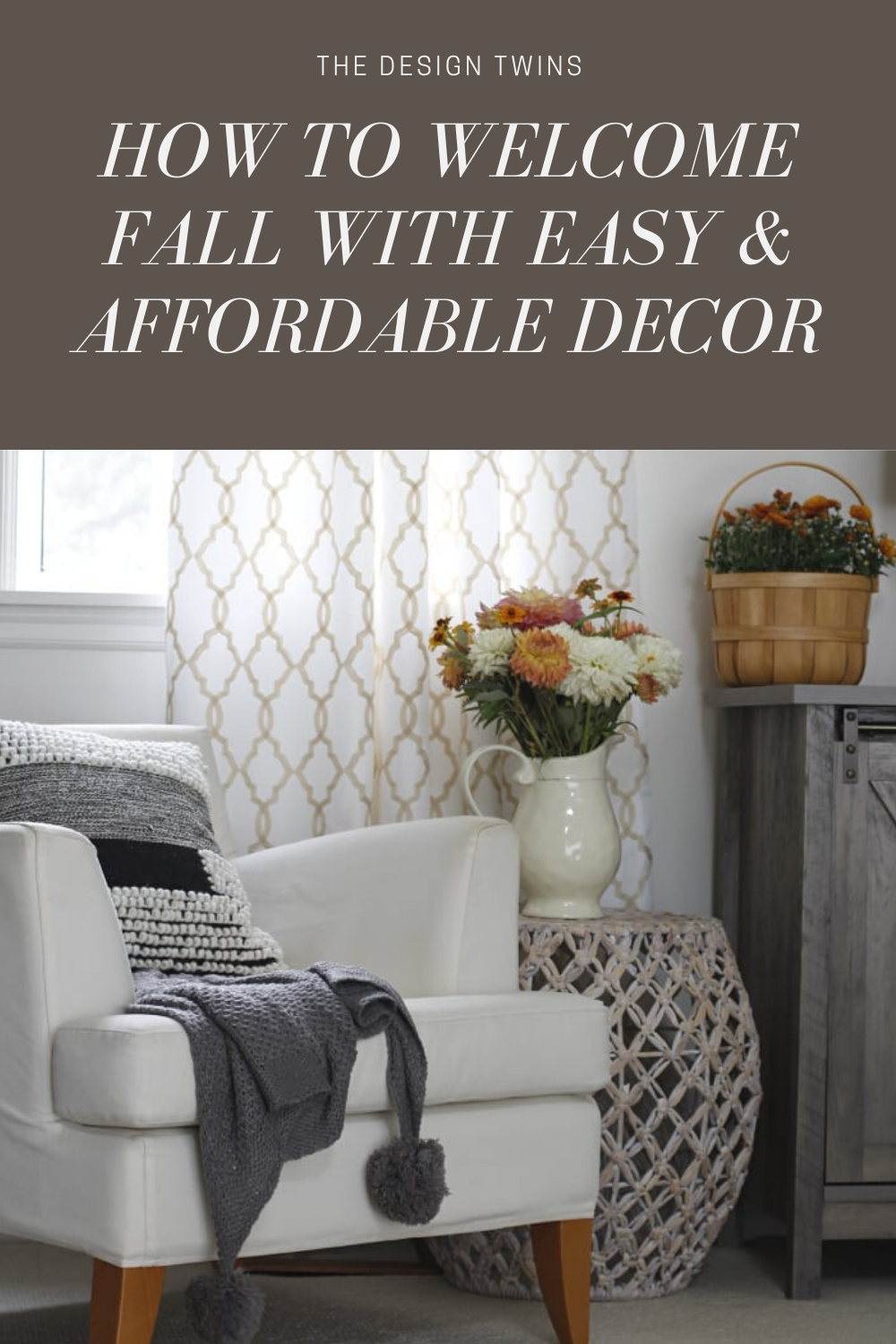 Welcome Fall With Easy And Affordable Decorating Affordable Decor Affordable Home Decor Fall Decor Inspiration