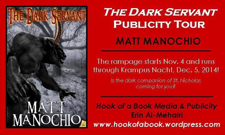 Matt Manochio The Dark Servant Ihorror review by Glenn Rolfe #KrampusArrives