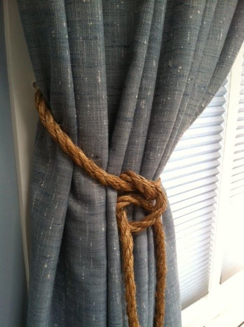 Love These Thick, Rustic Tweed Curtains. Iu0027m Thinking They Would Be Gorgeous