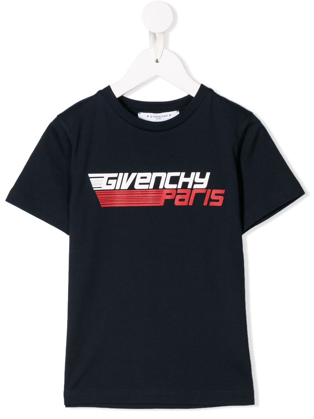 Givenchy Kids Logo Print T Shirt Kids Logo Mens Tops Shirts