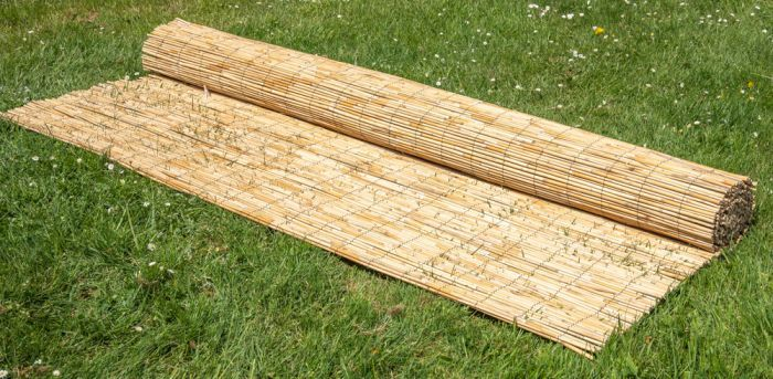 Thick Natural Bamboo Style Reed Fencing Screening 4 0m X 1