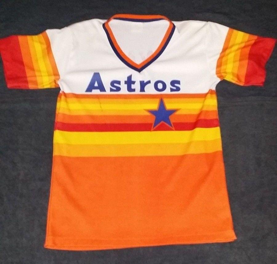 huge discount 787a7 fffd9 Details about Vintage Authentic Houston Astros Nolan Ryan ...