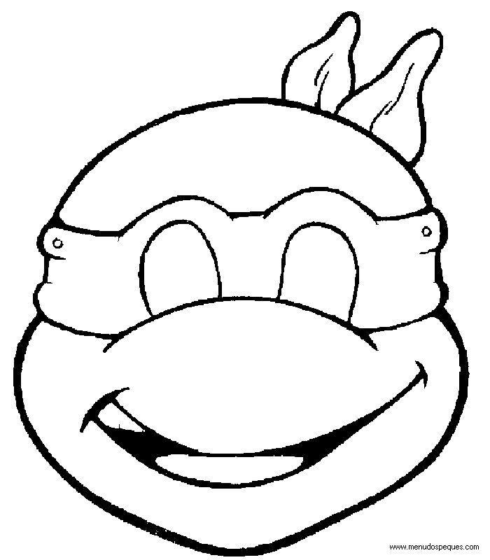 Careta tortuga ninja   Proyectos que intentar   Pinterest   Tortuga ...