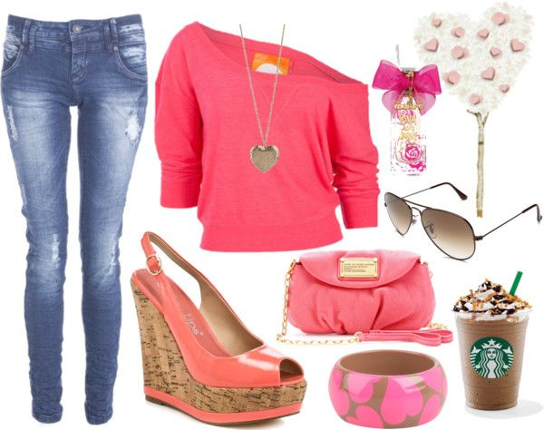 """pink"" by kadia-1996 ❤ liked on Polyvore"