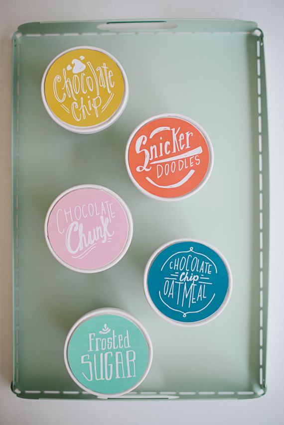 Printable Cookie Packaging Labels