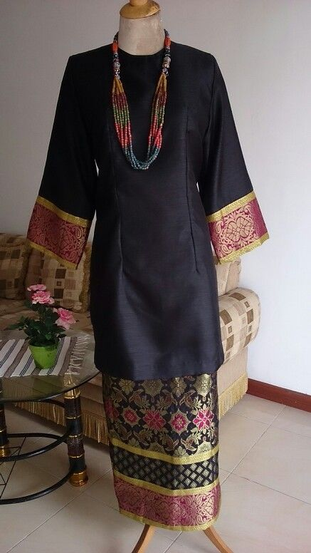 Baju Kurung Indonesia Songket Aciatob Rumahjahit My Work Baju