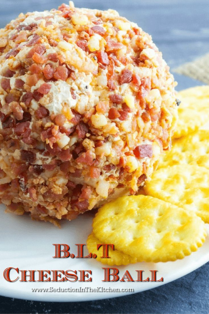 BLT Cheese Ball | Recipe | Dips, Cheese and Holidays