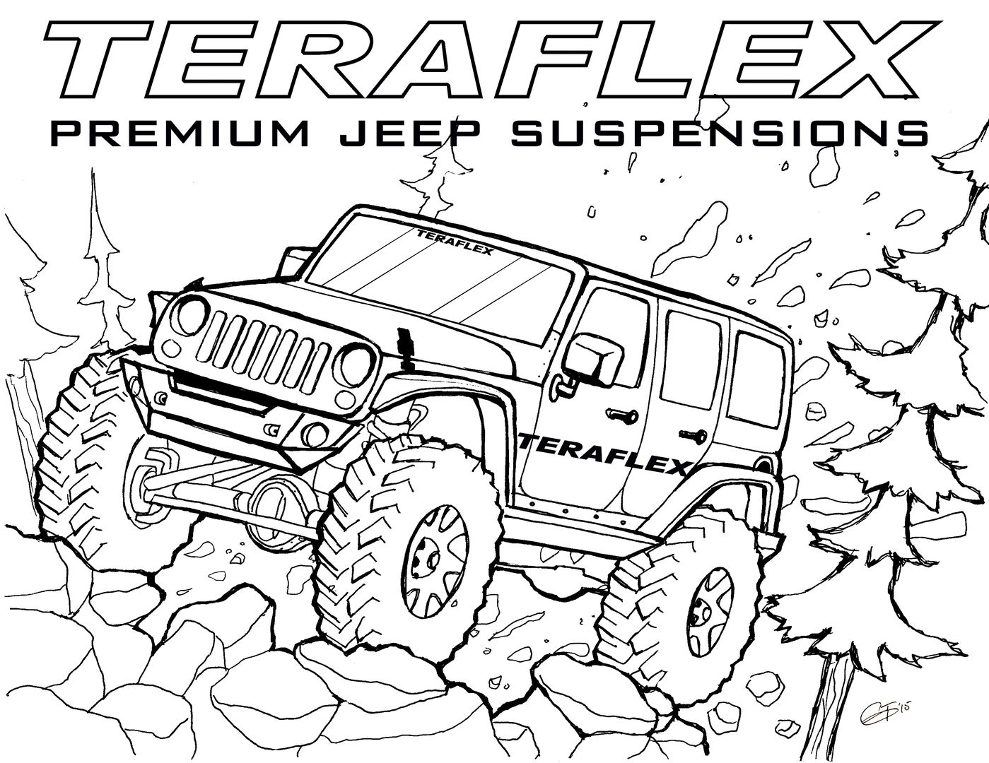 Jeep Coloring Pages Truck Coloring Pages Coloring Pages