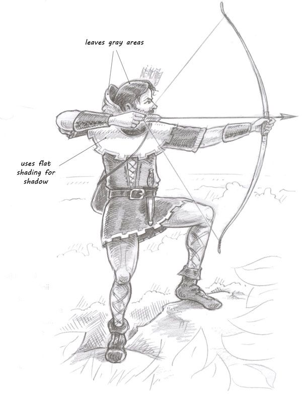 051e27e3932 How to draw Robin Hood