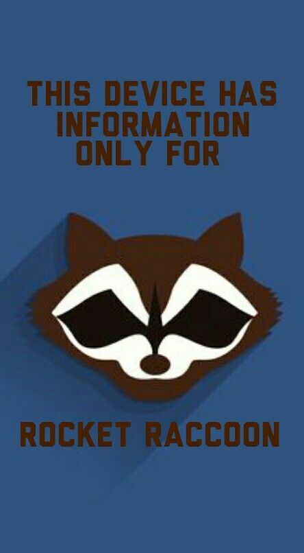 A Rocket Raccoon Wallpaper I Made