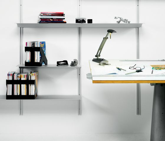 Exilis Wall Mounted System By Nonuform Library Shelving Systems