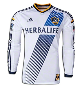 Adidas LA Galaxy Authentic Home Jersey 2014  Soccer  5d66a5eb3