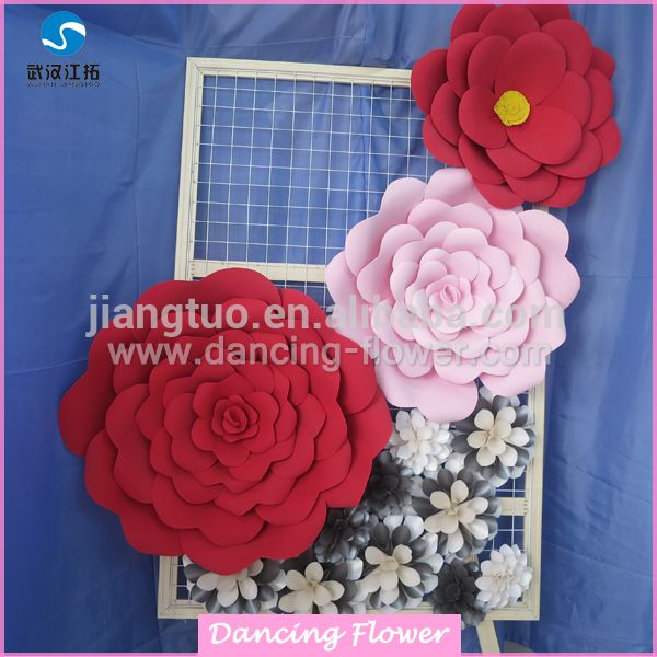 Wholesale cheap giant size artificial foam paper flower alibaba wholesale cheap giant size artificial foam paper flower mightylinksfo