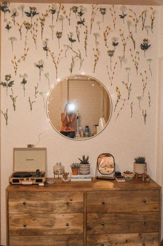 Photo of Spiegel Ziel Blumen gefälschte Hobby Lobby Crosle   Blumen Crosle ge #blumen #c…