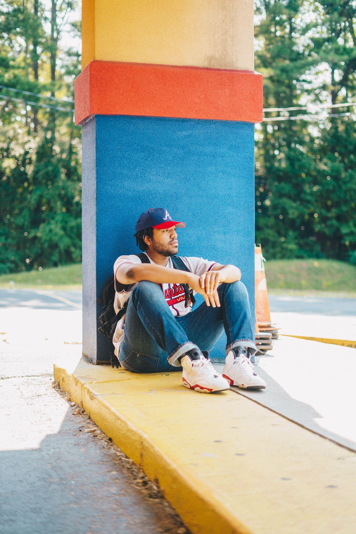 Photo Of Rapper Zane Smith Of Lithonia Georgia Hiphop Rap Music Rappers Poets Photography Portrait Portraits Candidphot Seven Music Zane Rap Albums