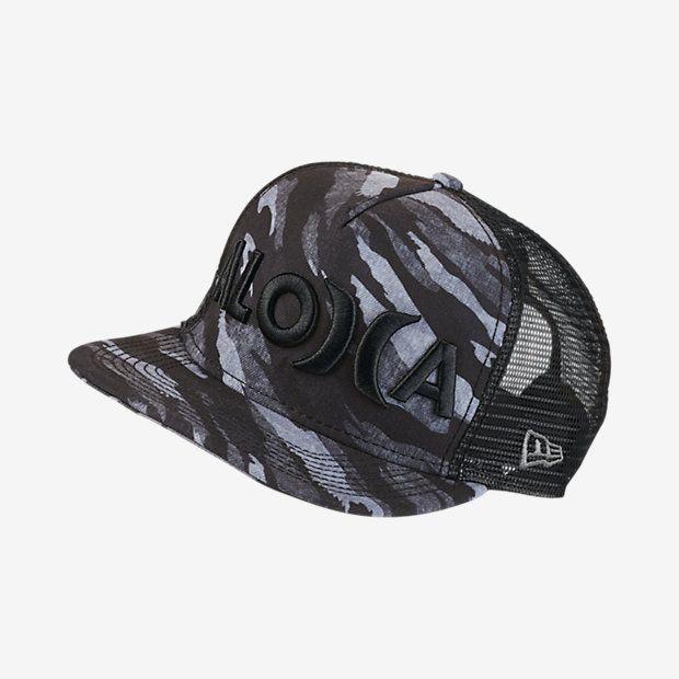 34226e8c2bf ... usa hurley elite flow aloha mens adjustable hat hurley camo flow  surfing camouflage aa606 d4f40