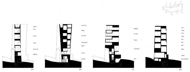 hotel in tschlin peter zumthor drawings pinterest architekten und architektur. Black Bedroom Furniture Sets. Home Design Ideas