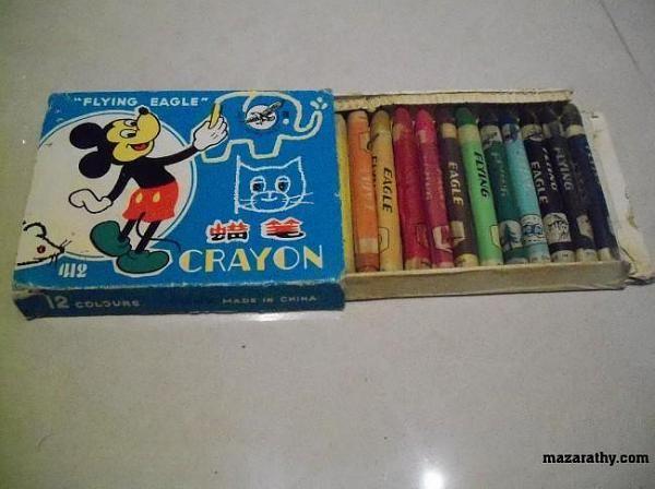 علبة الوان شمع Candy Bar Candy Crayon
