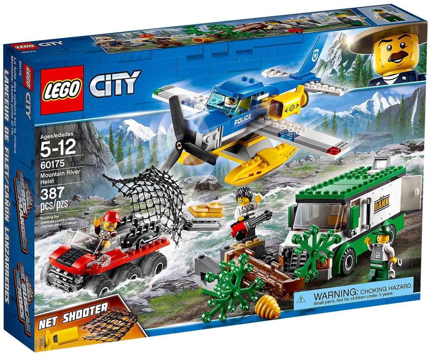 Lego City 60175 Le Braquage Par La Riviere Lego Sets Pinterest