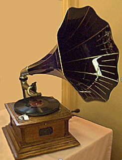 Gramophone to lend authenticity to the decor  #FeelBeautiful #WHBM