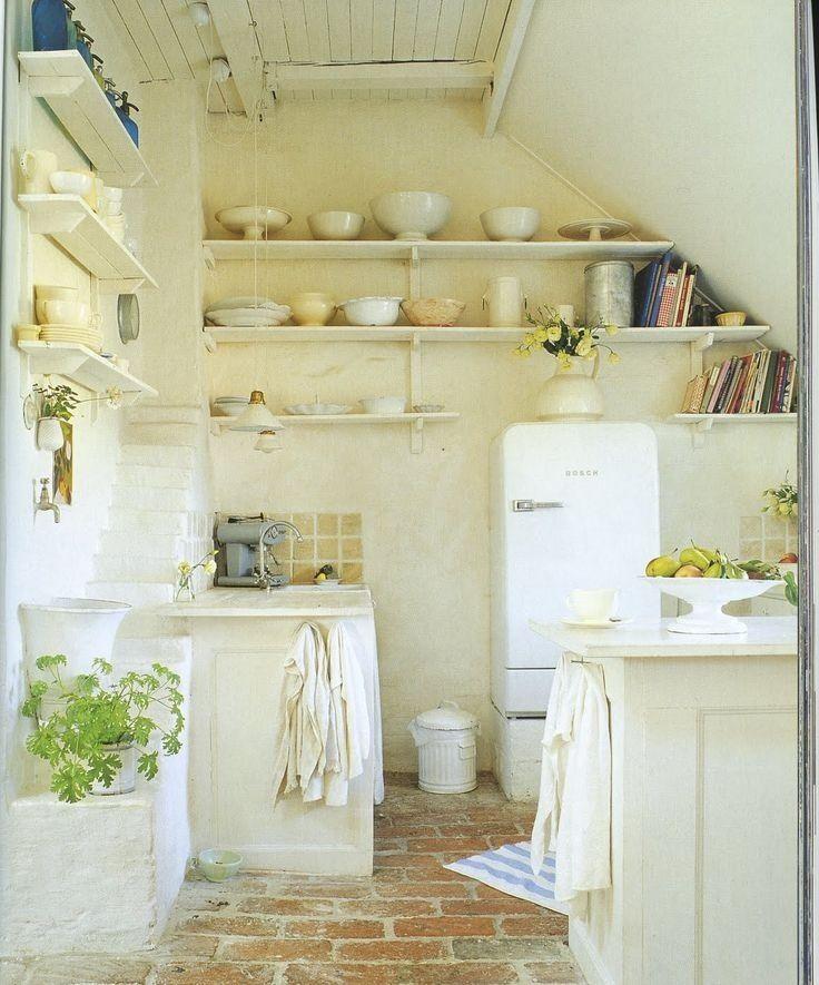 idées de couleurs & matières dans la buanderie de mon garage - esprit campagne, lambris isolants au plafond sous les tuiles
