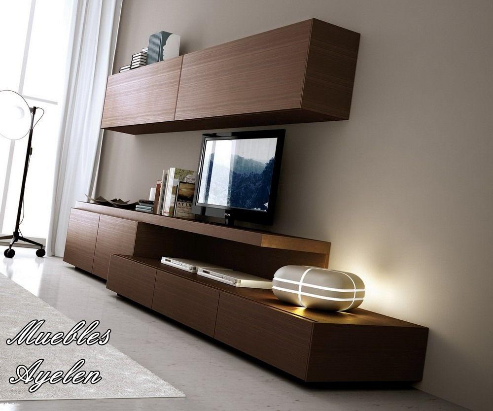 Modular Tv Lcd Rack Vajillero Mod 2700 Muebles Ayelen 4 149 00  # Muebles Rack Para Tv