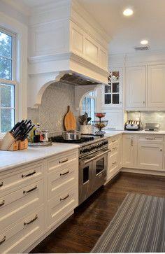 Corbels Under Hood Kitchen Cabinets
