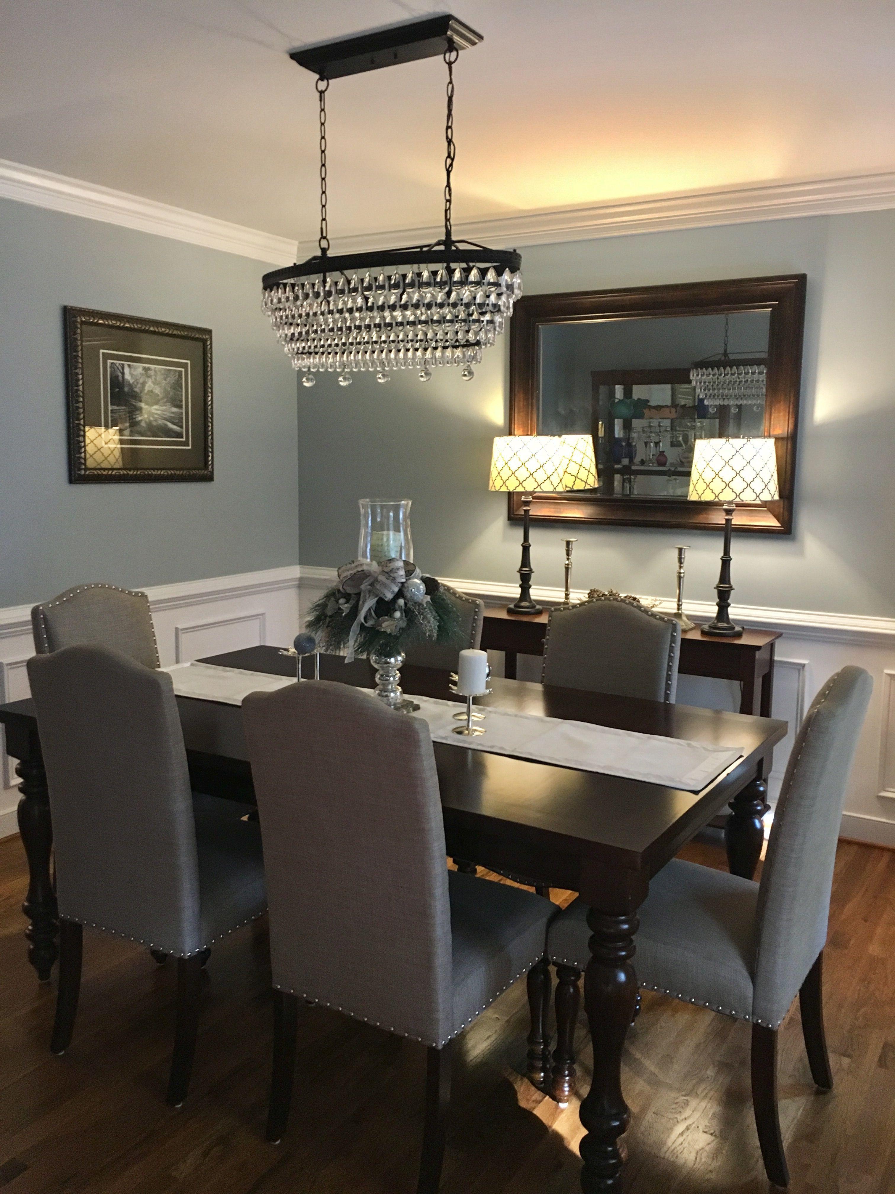 decoratedinnertablediningrooms in 2019 Dining room sets