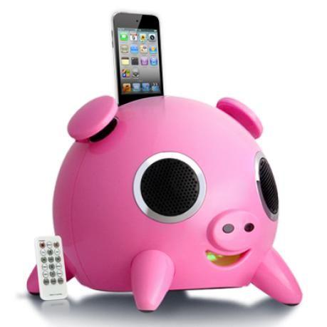 pig speakers :D
