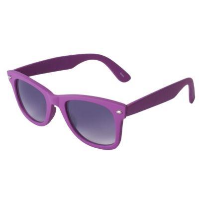 82d624a7f1 Target...Xhilaration In Purple Rubberized Wayferer Sunglasses ...