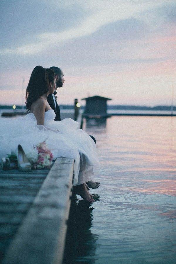 Magical Outdoor Wedding Photos of the Happy Couple