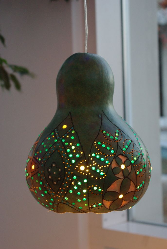 Gourd Lamp gourd lamps want more? visit this website above. | amazing bedside