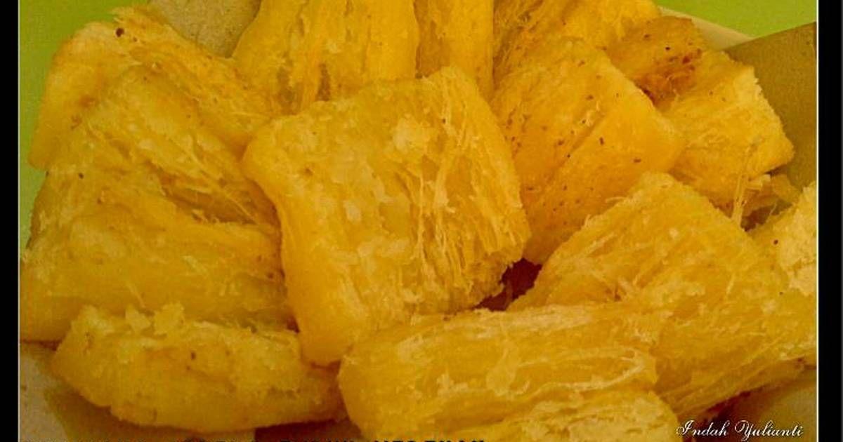 Resep Singkong Goreng Empuk Merekah 2 Versi Oleh Indah Yulianti Resep Resep Makanan Resep Makanan Dan Minuman