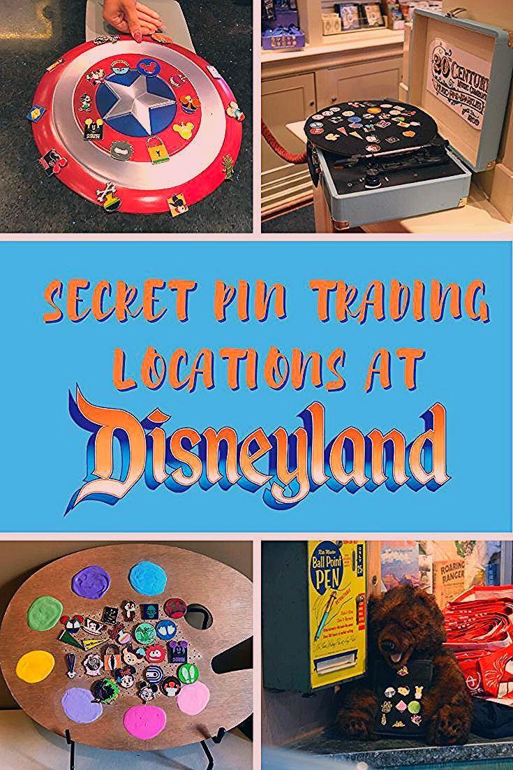 Secret Pin Trading Locations at Disneyland