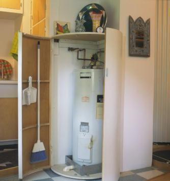 Water Heater Closet