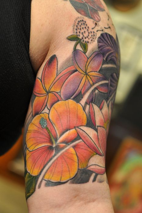 Hibiscus Tattoos And Hibiscus Tattoo Meanings Hibiscus Tattoo
