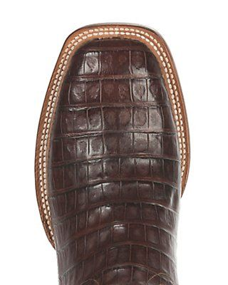 1e6ed42d20a Lucchese 1883 Men's Barrel Brown Caiman Tail & Smooth Ostrich Exotic ...