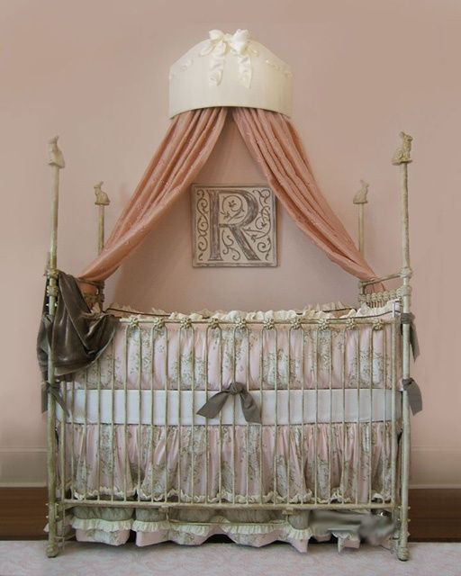 Love These Crowns Over Baby Beds There S No Place Like Home Baby Decor Bed Crown Nursery Inspiration