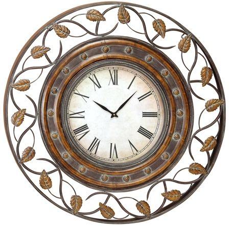 36 Decorative Iron Wall Clock