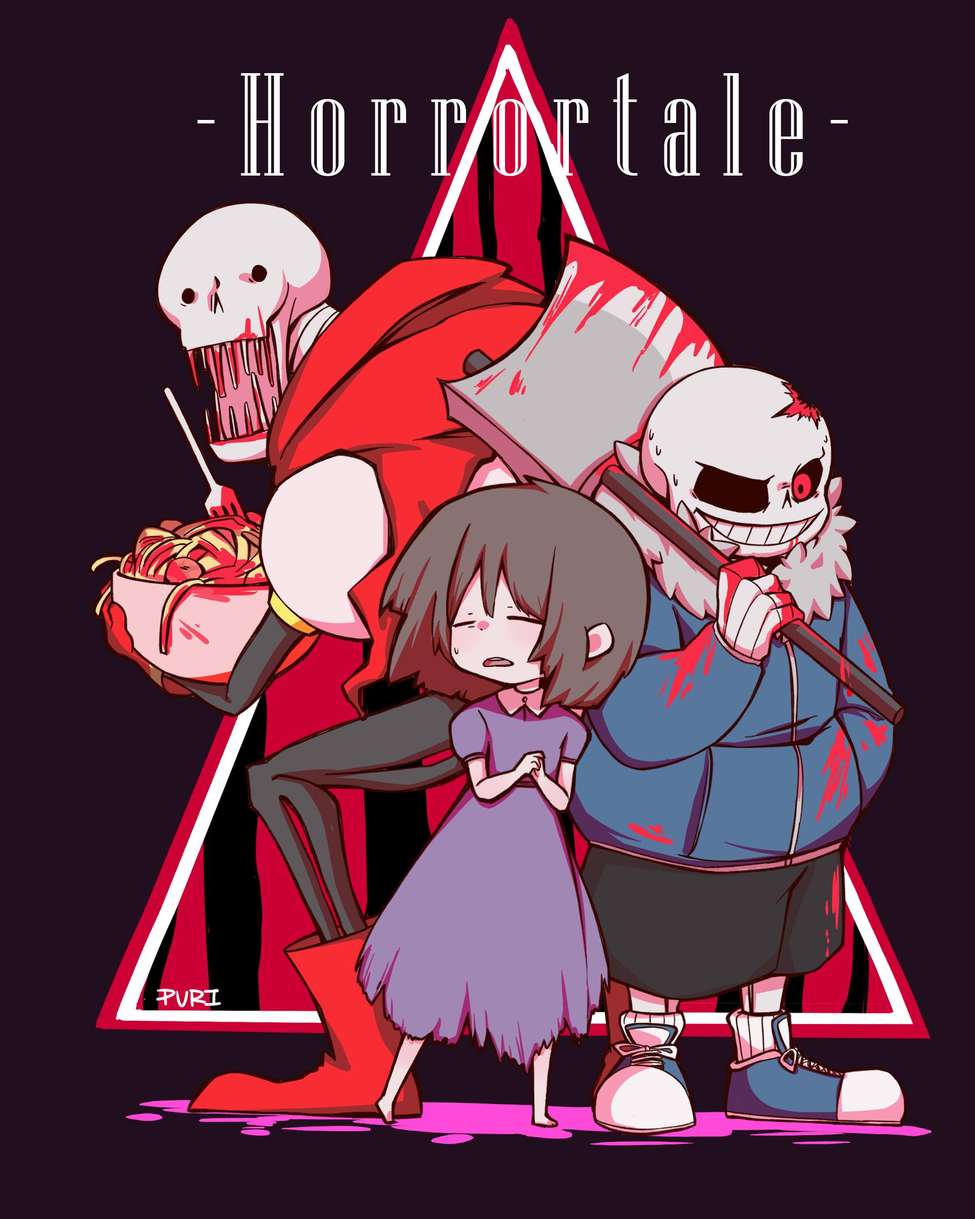 Horrrortale Papyrus Aliza E Horror Sans Horror Sans Horrortale Undertale