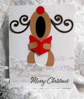 originales felicitaciones de navidad 6 fieltro - Postales De Navidad Originales