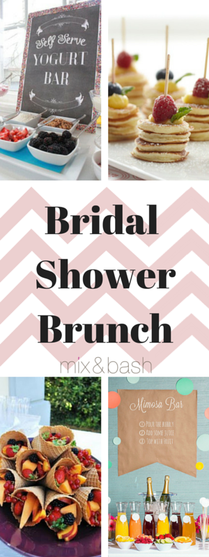 easy bridal shower brunch menu mix and bash