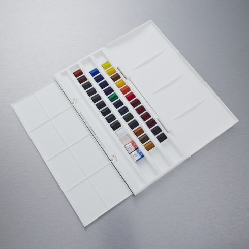 Winsor Newton Cotman Set Of 36 Half Pan Including 2 Artist S