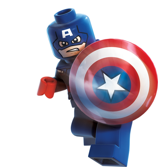 Official home of the lego marvel superheroes video game isai 39 s lego party 6 pinterest - Lego capitaine america ...
