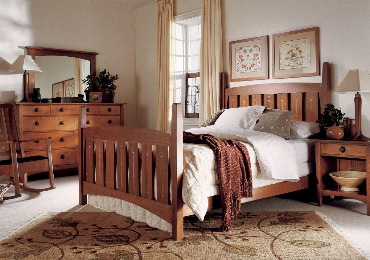 Stickley Harvey Ellis Bed Bedroom Bedroom Havens Pinterest Bedrooms Craftsman And Master
