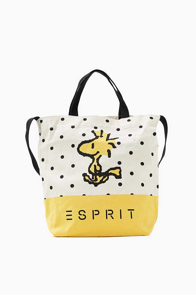 edde57f9e7ad Esprit / Canvas-Shopper mit Peanut-Print | Favorites | Peanuts ...