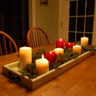 Pin By Pam Lester On For The Home Kitchen Table Centerpiece Dining Room Table Centerpieces Kitchen Table Centerpiece Candles